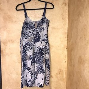 Size 6 Free People Spaghetti Strap Floral Dress